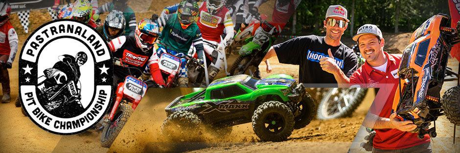 Traxxas erobert das Pastranaland mit extremer 2-Rad- und RC-Action! - Traxxas News Traxxas erobert das Pastranaland mit extremer 2-Rad- und RC-Action!