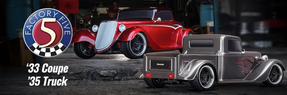 Neu! Factory Five Hot Rods von Traxxas - Traxxas News Neu! Factory Five Hot Rods von Traxxas