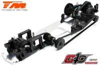 TM502091C-CMR Auto - 1/10 Nitro - 4WD Touring - RTR - Seilzugstarter - 1-Speed - Team Magic G4D TC CMR / TM502091C-CMR