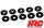 HRC2081B Karosserie Kissen Ringe Softringe - 1/8 (10 Stk.) / HRC2081B
