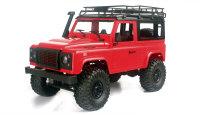 Geländewagen Crawler 4WD 1:12 Bausatz rot