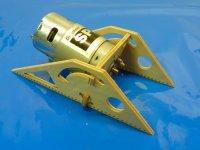 Nautic Pro CNC Motorträger aus GFK für 580, 700...