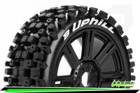 Louise RC - B-UPHILL - 1-8 Buggy Tire Set - Mounted -...