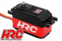 HRC68112DL Servo - Digital - Low Profile - 40.8x26.1x20.2 - 12Kg - Coreless - Metallzahnräder - wasserfest - Doppelt Kugelgelagert / HRC68112DL