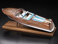 Ital. Sportboot Typ Aquarama 1:10 Baukasten