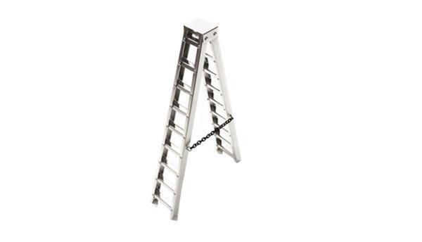 Aluminium Leiter 6 zoll