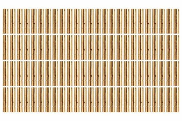 Goldkontakt Ø3,0mm 100 Buchsen |Yuki AM-603-100F