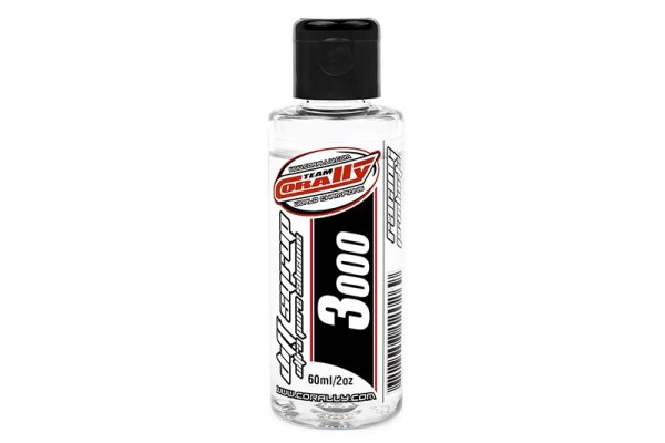 Team Corally - Diff Syrup - Ultra Pure Silikon Differential Öl - 3000 CPS - 60ml / 2oz