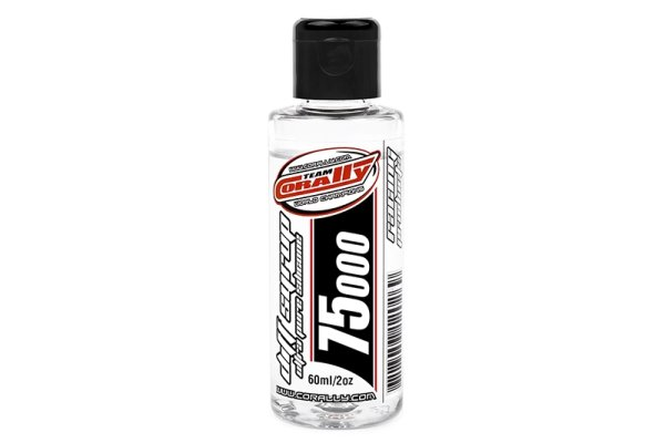 Team Corally - Diff Syrup - Ultra Pure Silikon Differential Öl - 75000 CPS - 60ml / 2oz
