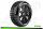 LR-T3150VB Louise RC - B-HORNET - 1-8 Buggy Tire Set - Mounted - Super Soft - Black Spoke Wheels - Hex 17mm - LR-T3150VB