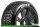 LR-T3194SB Louise RC - B-VIPER-JA - 1-8 Buggy Tire Set - Mounted - Soft - Black Spoke Wheels - Hex 17mm - LR-T3194SB