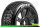 LR-T3194VB Louise RC - B-VIPER-JA - 1-8 Buggy Tire Set - Mounted - Super Soft - Black Spoke Wheels - Hex 17mm - LR-T3194VB