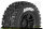 LR-T3223SBTF Louise RC - SC-UPHILL - 1-10 Short Course Tire Set - Mounted - Soft - Black Wheels - Hex 12mm - SLASH 2WD - Front - L... - LR-T3223SBTF