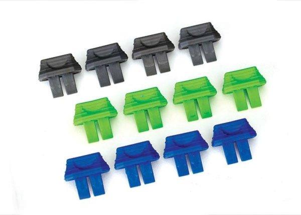 Traxxas | Akku-Ladezustand-Indikator (4x grün, 4x blau, 4x grau) | TRX2943