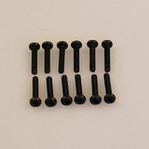 Linsenrkopfschneidschrauben 3 x 16 (10)