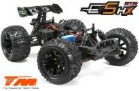 Team Magic E5 HX - Schwarz/Blau / TM510003B