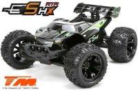 Team Magic E5 HX - Schwarz/Grün / TM510005G