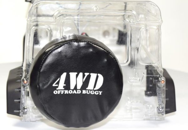 Ersatzrad Crawler mit Abdeckung + Metallhalterung (96mm) / AB-2320055