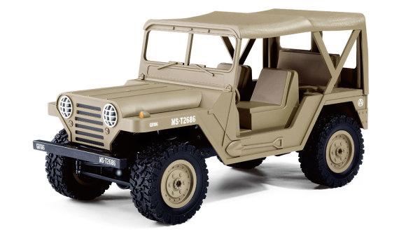 U.S. Militär Geländewagen 1:14 4WD RTR, Desert Sand