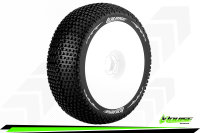 Louise RC - B-TURBO - 1-8 Buggy Tire Set - Mounted -...