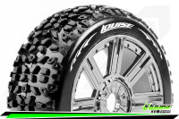 Louise RC - B-MAZINGER - 1-8 Buggy Tire Set - Mounted -...