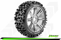 Louise RC - B-PIONEER - 1-8 Buggy Tire Set - Mounted -...