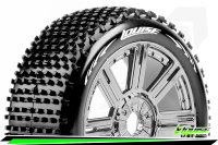 Louise RC - B-HORNET - 1-8 Buggy Tire Set - Mounted -...