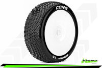 Louise RC - B-CONE - 1-8 Buggy Tire Set - Mounted - Super...