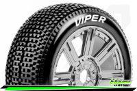 Louise RC - B-VIPER-JA - 1-8 Buggy Tire Set - Mounted -...