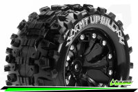 Louise RC - MT-UPHILL - 1-10 Monster Truck Tire Set -...