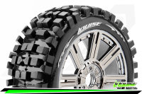 Louise RC - B-ULLDOZE - 1-8 Buggy Tire Set - Mounted -...