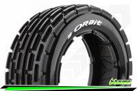 Louise RC - B-ORBIT - 1-5 Buggy Tire Set - Sport - Front...