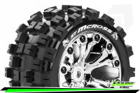 Louise RC - ST-MCROSS - 1-10 Stadium Truck Tire Set -...