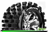 Louise RC - MT-ROCK - 1-10 Monster Truck Tire Set -...