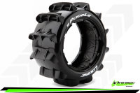 Louise RC - B-PADDLE - 1-5 Buggy Tire Set - Sport - Rear...