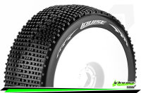 Louise RC - B-GROOVE - 1-8 Buggy Tire Set - Mounted -...
