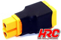 Adapter - für 2 Akkus in Parallele - Kompakte...