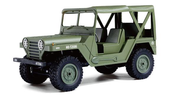 U.S. Militär Geländewagen 1:14 4WD RTR, Military grün