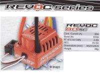 Team Corally REVOC80SC + Dynotorq610 3500Kv