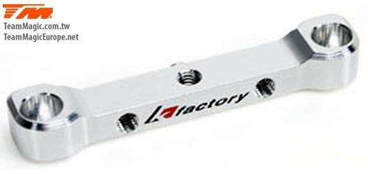 Option Part - E4RS/FS/JR/JS/D/E4D-MF - Aluminium 7075 Rear Rear Hinge Pin Mount (Toe-in 3.5) / KF2140