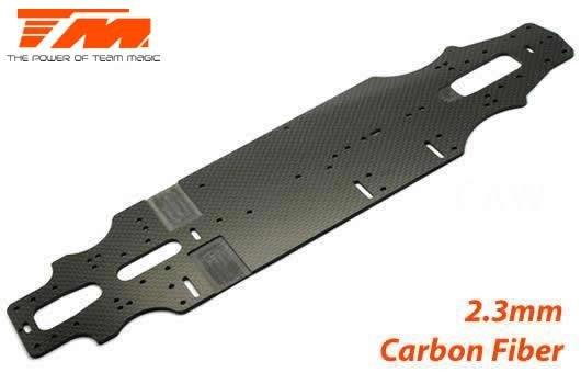 Ersatzteil - E4RS III - Chassis Kohlefaser 2.3mm / TM507301