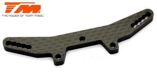 Ersatzteil - E4RS III / PLUS - Low CG - Stossdämpferbrücke vorne 4mm / TM507309