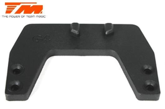 Starterbox - Ersatzteil - Alpha - Vordere Chassishalter TM G4 / TM111124