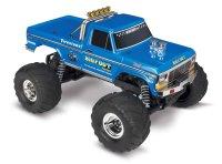 TRAXXAS BIGFOOT No.1  RTR +12V-Lader blau