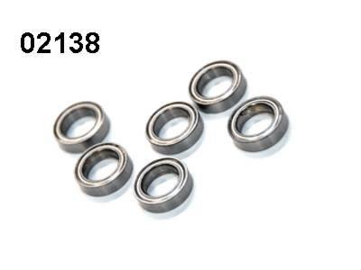 02138 Kugellager 15x10mm 6 Stück