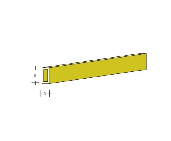 Messing-ROHR 6 x 6mm