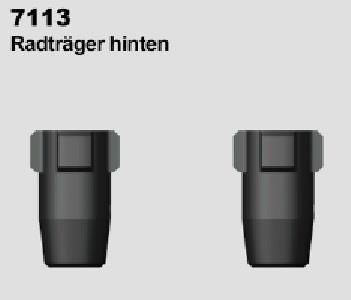 Radträger hinten (2)