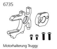 DF6735 Motoraufnahme Alu 1:8 Top Line - TRUGGY