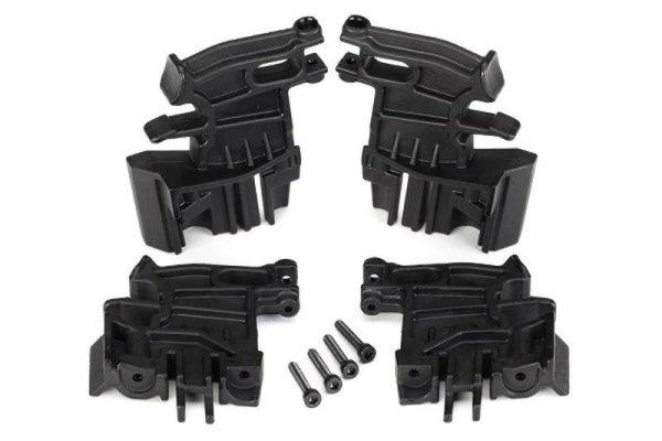 Traxxas | Akku Hold-Down Halter, links (2) rechts (2) 3x18mm CS (4) | TRX7718