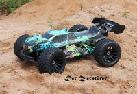 Destructor BR 1:8 Off-Road Truggy brushed DF 3180